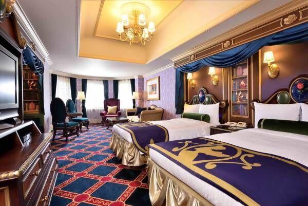 東京ディズニーランドホテルに特別な宿泊プログラム、『美女と野獣』のキャラクタールームも