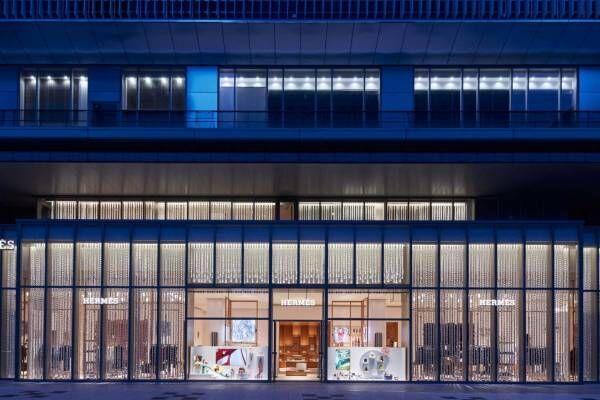 エルメスの新店が大阪・心斎橋パルコにオープン、パリの雰囲気漂う関西最大規模の広々空間