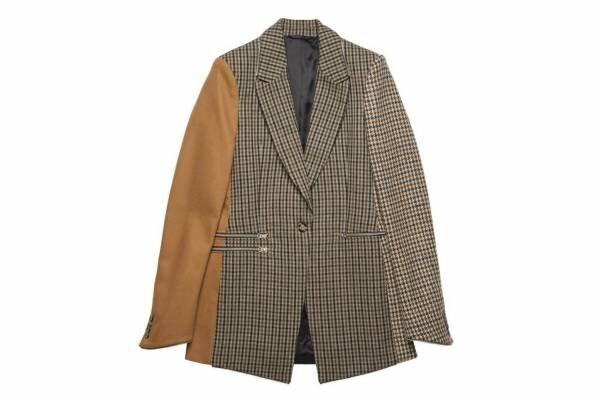 """アクネ ストゥディオズ、異素材を繋いだ新作ウィメンズジャケットやシャツ - """"余り素材""""を再利用"""