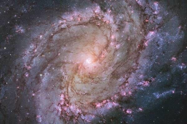 展覧会「138億光年 宇宙の旅」東京都写真美術館で、NASAの探査機や望遠鏡が捉えた美しい天体の姿