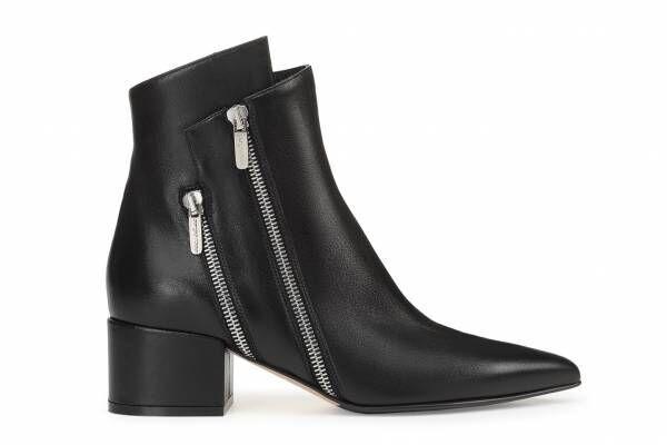 セルジオ ロッシの新作ブーツ「セルジオ ライダー」ダブルジップ×アシンメトリックなシルエット