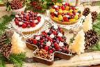 """キル フェ ボンのクリスマスケーキ2020、""""ツリー&リース""""をかたどった鮮やかフルーツのタルト"""