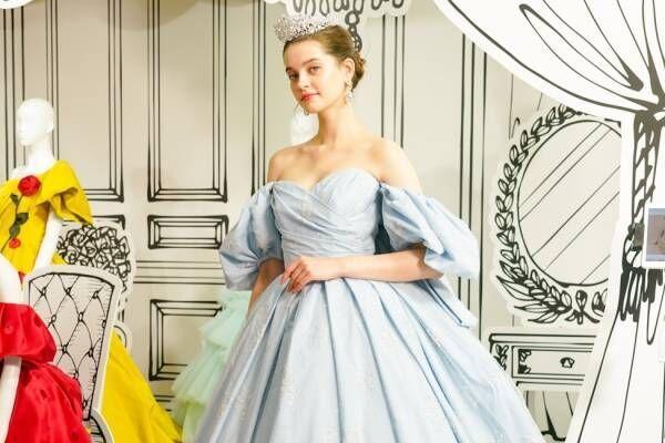 ディズニープリンセスの新作ウエディングドレス、シンデレラや白雪姫モチーフ&三浦大地がデザイン
