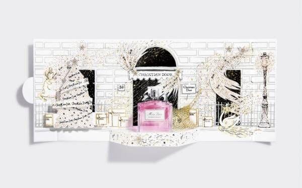 ディオール2020年クリスマスフレグランスコフレ、リップ&美容液付きミニフレグランスキットも