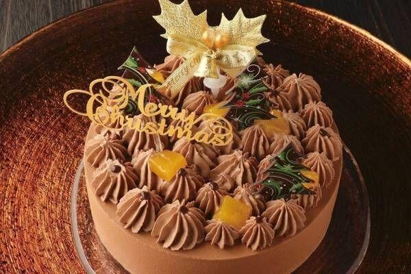 """クリオロのクリスマスケーキ2020、爽やかな""""オレンジ""""香る濃厚チョコレートムース"""
