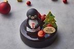 「Suicaのペンギン」クリスマスケーキが池袋ホテルメトロポリタンに、マロン&カシスのチョコケーキ
