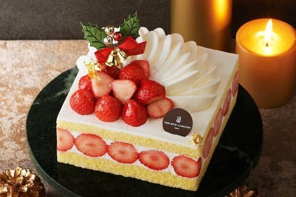日本橋三越本店のクリスマスケーキ2020、クマ付き白モンブランやイチゴ×マロンケーキなど