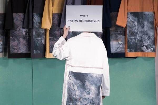 """シンヤコヅカ 2021年春夏コレクション - コラボ多数""""ビュッフェ""""のようなオムニバス式"""