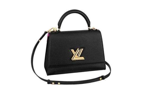 """ルイ・ヴィトンのアイコンバッグ「ツイスト」にワンハンドルの新作、輝く""""LV ツイストロック"""""""