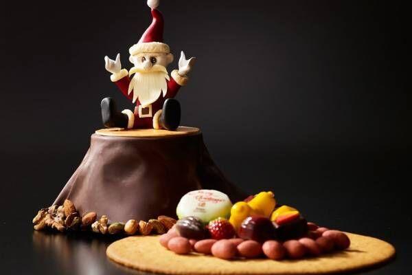 ザ・プリンス パークタワー東京&東京プリンスホテルから、切り株×サンタのクリスマスケーキなど