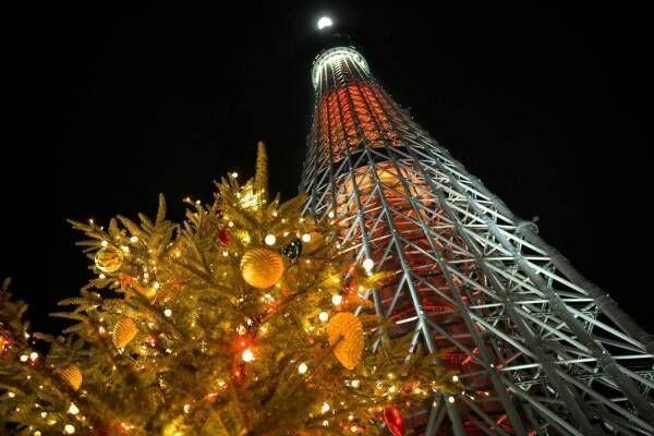 東京スカイツリータウンのクリスマス2020、約40万球が点灯するイルミネーションや限定ライティング