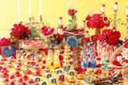 """""""美女と野獣""""デザートブッフェが名古屋で、薔薇アップルパイや時計&本を模ったケーキなど"""