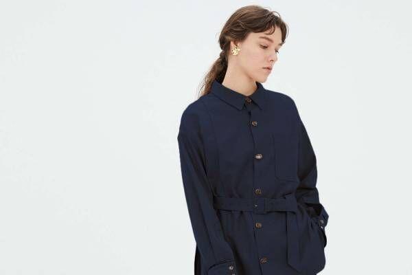 """ミューラル""""月下美人""""の刺繍レースブルゾン&オーバーサイズシャツなど、渋谷パルコ限定で"""