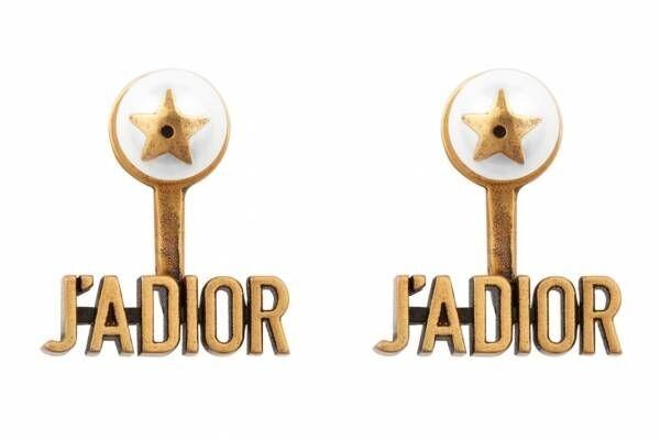ディオール「J'ADIOR」新作アクセサリー、スターモチーフ入りピアスや大ぶりリングなど
