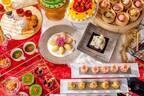 """ヒルトン東京の中華点心&スイーツ""""クリスマスコフレ""""ランチ 、華やか焼売&餃子やケーキが食べ放題"""
