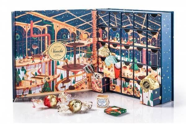 """ヴェンキの2020年クリスマスチョコ、""""チョコレート工場""""着想のアドベントカレンダーなど"""
