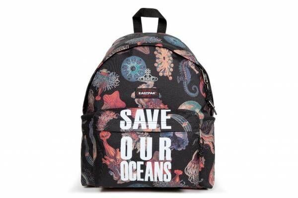 ヴィヴィアン・ウエストウッド×イーストパックのバッグ全5型、クラゲなど海洋生物の総柄で