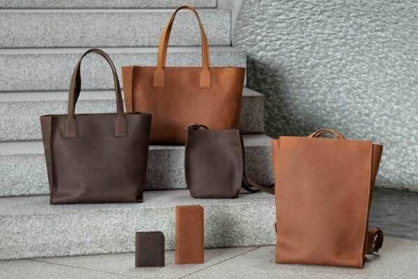 土屋鞄製造所の新シリーズ「オリジンオイルヌメ」革のエイジングを楽しむショルダーバッグやバックパック