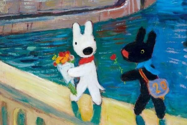 絵本「リサとガスパール」展覧会が松屋銀座で、未公開作品含む原画100点以上や初期作品スケッチなど