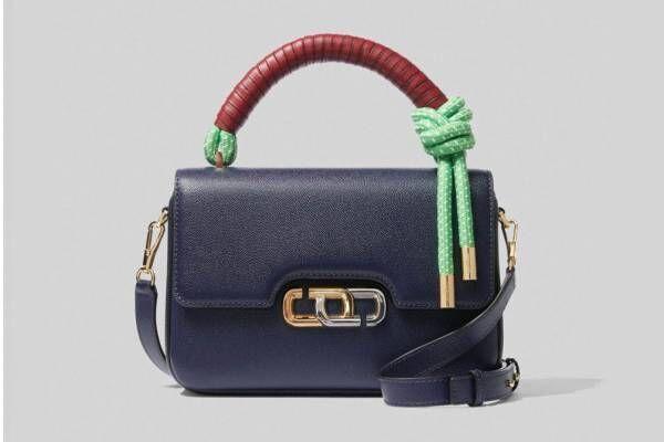 """マーク ジェイコブスの「ザ Jリンク」からバッグ&財布、""""ダブル J""""を横向きに"""