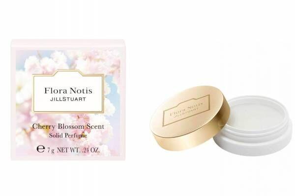 """フローラノーティス ジルスチュアート""""桜の香り""""の練り香水、ハンドクリーム入りセットも"""
