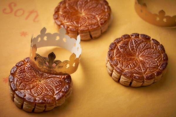 オークラ東京から新年を祝う菓子「ガレット・デ・ロワ」バター香るサクサク食感のパイ生地
