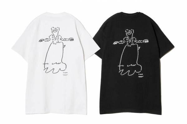 """アンダーカバー×長場雄のTシャツ、高橋盾手掛けるぬいぐるみのクリーチャー""""グレイス""""を描いて"""