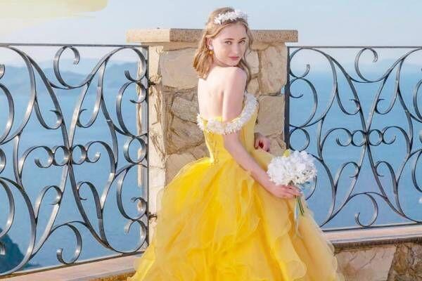 人気アニメ『ONE PIECE』のナミ・ロビン・ビビ・ペローナをイメージしたウェディングドレス