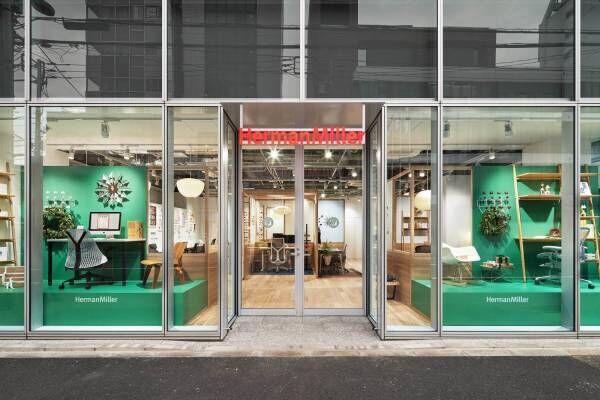 ハーマン ミラー、青山にホームオフィス専門の体験型店舗-アーロンチェア全種や高機能オフィスチェア