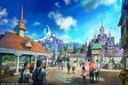 東京ディズニーシーの新エリア『アナと雪の女王』『塔の上のラプンツェル』『ピーター・パン』をテーマに