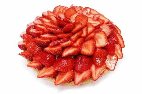 """カフェコムサ「あまおう」いちごの限定ケーキ、フロマージュブラン&抹茶クリームに""""大粒""""いちご"""