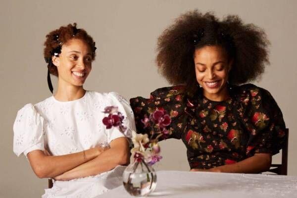 H&M「シモーネ・ロシャ」とコラボ、花柄ドレス&パールアクセに初のメンズ・キッズも