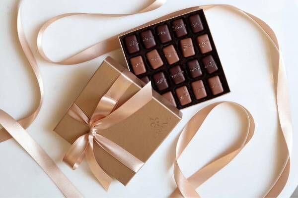 オバマが愛した「フランズ チョコレート」のバレンタイン、キャラメル×塩の上質チョコレート