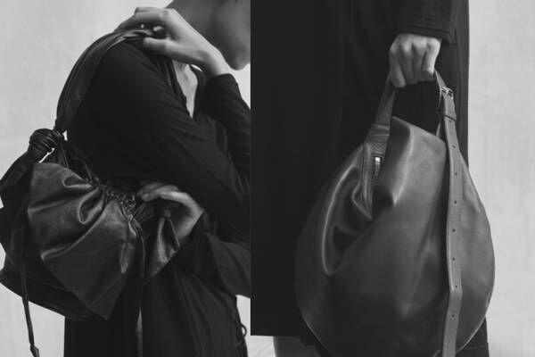 """ディスコード ヨウジヤマモトの新作バッグ、""""葉""""や""""結び目""""モチーフのレザーショルダーやトート"""