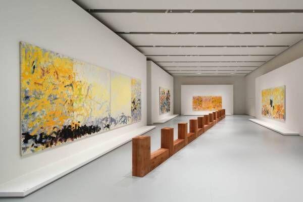 エスパス ルイ・ヴィトン大阪の展覧会、戦後アメリカの抽象表現絵画&ミニマリズム彫刻を紹介