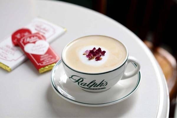 """ラルフ ローレンのカフェ「ラルフズ コーヒー」バレンタイン、ライチの贅沢ドリンク&""""ハート""""チョコ"""