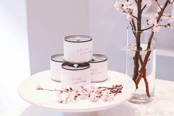 """煎茶堂東京""""桜餅のような""""香りの「さくらの煎茶」本物の桜の葉を使用"""