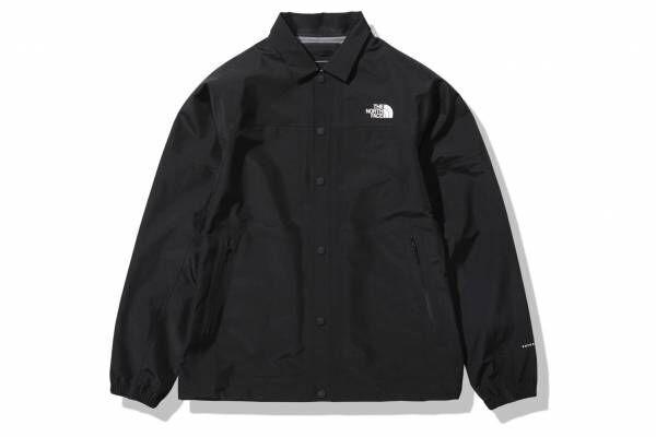ザ・ノース・フェイスのユニセックスコーチジャケット、しなやかな防水透湿素材を採用