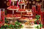 """カフェランブータンのいちごアフタヌーンティー、""""苺入り""""台湾メロンパンやフルーツサンドなど"""