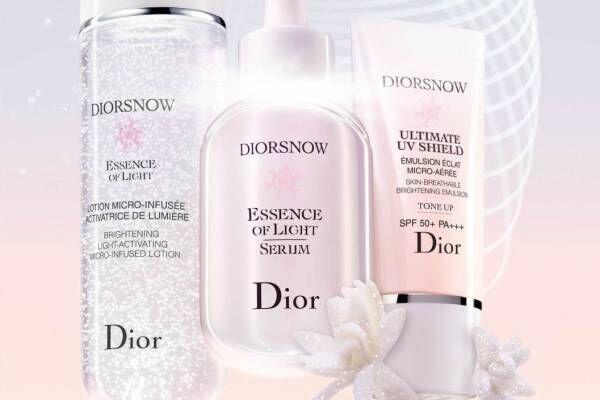 「ディオール スノー」人気美容液が進化、肌色トーンアップを叶える新UVも