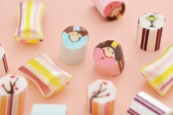 """パパブブレ""""ひなまつり""""キャンディミックス、お内裏様&お雛様がリンゴやイチゴ味のキャンディに"""