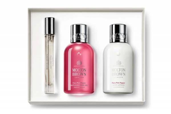 モルトンブラウンから「ピンクペッパー」香る母の日限定ギフト、オードトワレやボディローションをセット