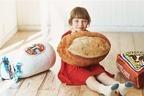 """スタディオクリップ×ベーカリー「ポンパドウル」""""本物そっくり""""パン型クッション&イラスト入りバッグ"""