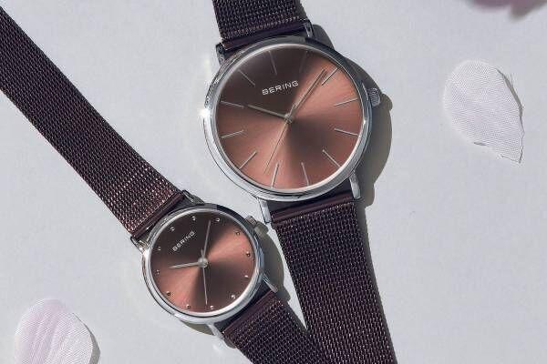 ベーリングから桜をイメージした新作腕時計、日本限定コレクションの2021年モデル