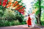 """ムーミンバレーパーク""""約1,200本""""のカラフルな傘が広がるイベント「ムーミン谷とアンブレラ」"""