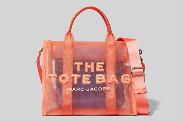 ザ マーク ジェイコブスのバッグ「ザ トート バッグ」軽やかなメッシュ素材で