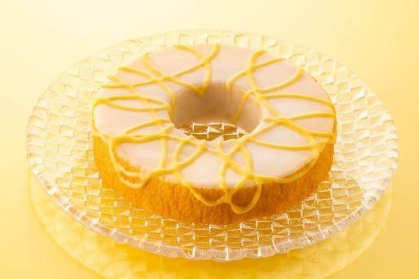 """ねんりん家""""レモンフォンダンがけ""""限定バームクーヘン、地中海レモンの甘酸っぱい味わい"""