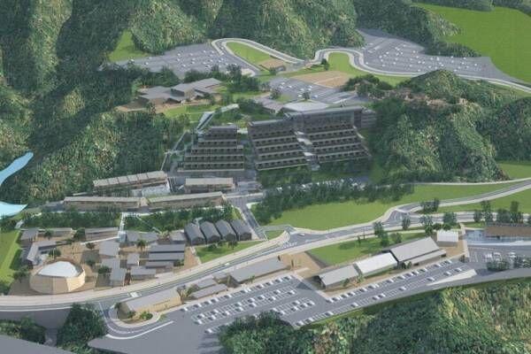 「ヴィソン」三重・多気町に日本最大級の商業リゾート施設 - ホテルや温浴施設、巨大産直市場など