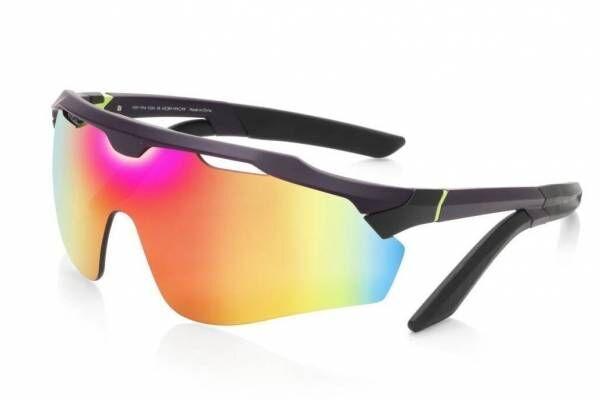 """JINS×エヴァンゲリオンの初号機サングラス""""虹色ミラーレンズ""""を装着、2号機メガネも"""
