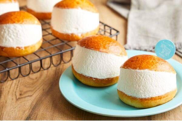 生クリーム専門店ミルク初の「ベーカリー」大阪・なんばシティに、生クリームパンなど全4種